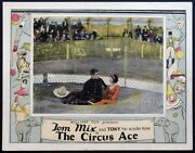 The Circus Ace Tom Mix Silent Western 1927 Lc