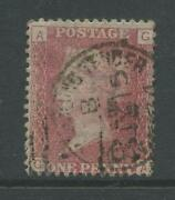 Gb Railway Sorting Tender Tpo On Qv Penny Red Plate 149