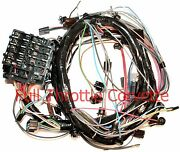 1971 Corvette Wiring Harness Dash With Air Conditioning Us Reproduction C3 New