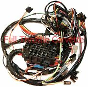 1979 Corvette Wiring Harness Dash Without Power Windows Us Reproduction C3 New