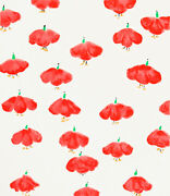 Donald Sultan And039red Wall Flowersand039 2008 Signed Silkscreen Limited Edition Print