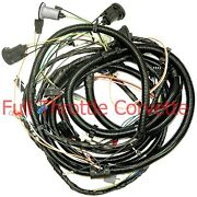 1982 Corvette Wiring Harness Collector Edition Rear Body Us Reproduction C3 New
