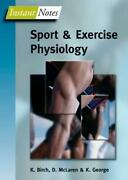Bios Instant Notes In Sport And Exercise Physiology By T. Gonley English Paper
