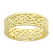 Menand039s Sterling Silver Yellow Or White Gold Irish Celtic Knot Wedding Ring Band