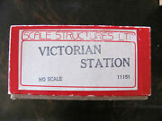 Scale Structures Limited Victorian Station Kit Ho Scale New