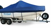 Westland 5 Year Exact Fit Monterey 245 Cruiser W/ Ext Plat And Bimini Cover 2003