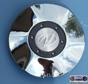 And03901-and03902 Olds Aurora Used Cap Chrome Olds Logo 6-1/4 Dia. 6040