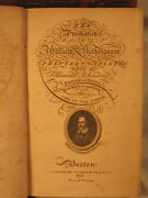 The Dramatick Works Of William Shakespeare Antique Old 8 Volume Set Leather 1807