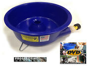 Blue Bowl Pan Fine Gold Recovery Concentrator Removes Black Sands + How To Dvd