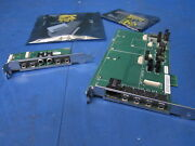 New Mott Canyon 4 Analog Audio Module D34533 W/ Paddle Card D35404 + Cables