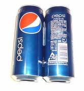 Pepsi Cola Can From Japan Tall 500ml 2012 Asia Blue Can Large Rare 500 Ml