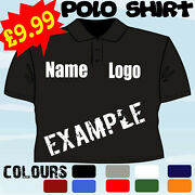 Gardening Centre Business Personalised T Polo Shirt