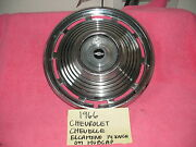 1966 Chevrolet Chevelle El Camino Factory Gm Oem Hubcap 14 Inch Free Shipping