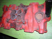 1957 Chevy, 4 Barrel Intake Manifold 3731398 D-2-57, Exc. Cond. Wow