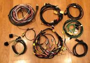 1956 Chevy Wire Harness Kit 2 Door Station Wagon With Alternator Wiring Usa Made