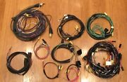 1955 Chevy Wire Harness Kit 2 Door Station Wagon With Alternator Wiring Usa Made