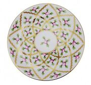 Vintage Herend Petites Roses Bread And Butter Plate