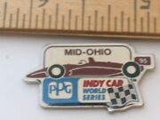 Mid Ohio Raceway Race Track 1995 Ppg Indy Car World Racing Series Pin B