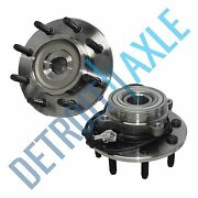 2 Front Wheel Bearing And Hub For 2000 2001 2002 Dodge Ram 2500 3500 Abs 4x4