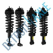4pc Front And Rear Struts Assembly For 2004 2005 Ford Explorer Mercury Mountaineer