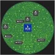 Disneyland Sc-fi Academy Event Circuit Board Park Map Signed By Chris Chapman