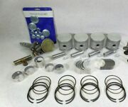 Toyota 5r Forklift Engine Kit Gas 2.0l Early Pistons Rings Gaskets Bearings
