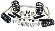 1964-66 Chevelle Stage 2 Suspension Kits, Coil Springs 2 Front And Rear Drop