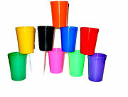 500 Kids Small 12 Oz Drinking Glasses/cup Choice 14 Colors Made In Usa Lead Free
