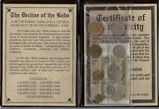 8- Kopek Coins And 1 Ruble Note From The Former Communists Ussr The End Of Soviets