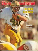 Sports Illustrated 1978 Notre Dame Champions Terry Eurick Joe Montana No Label