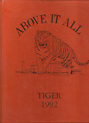 Dover High School Yearbook Dover Nj 1992 Tiger New Jersey
