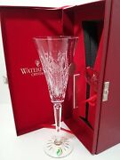 Waterford Crystal 1st Edition 12 Days Of Christmas Flute Partridge Pear Tree Nib