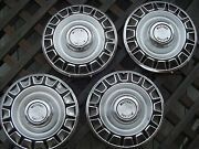 Vintage 1970 Ford Mustang Hubcaps Wheel Covers Center Caps Fomoco Classic Rims