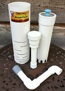 Six Aquaponics 12 Deep Media Bell Siphons Ibc Grow Bed With 1 Clear Top Bell