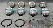 Speed Pro Chevy 5.7/350 Vortec Hypereutectic Coated Skirt Pistons+moly Rings +40