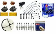 Complete Tune Up Kit Air,gas Filters,cap,rotor ,wires,plugs Ls400,sc400 90-94