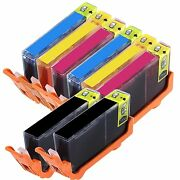 8 Pack New Ink Cartridge For 564 564xl Fits Hp Officejet 4620 4622 With Chip