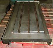 47x23x5 Steel Welding T-slotted Table Cast Iron Layout Plate T-slot Weld