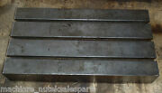 26 X 14 X 4-1/2 Tall Steel T-slotted Table Layout Welding Weld Sub T-slot