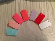 Lot X50 Iphone 4 4s Hard Case Cover Color Blue New Back Protector 3gs 3 G - 3 Gs