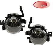 For Bmw E65 750 760 E66 Front Pair Set Of Left And Right Fog Lights Lamps Oem Zwk