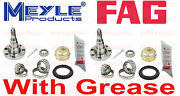 2-left+right Oem Rear Wheel Bearing Rear Stub Axle With Drum Brakes,without Abs