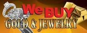 3ft X 8ft We Buy Gold And Jewelry Vinyl Banner -alt To Banner Flag 3'x8' 143