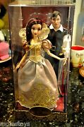 D23 2013 Snow White And Gold Fairytale Dolls Le 148 Of 600 Dolls