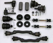 Cadillac Deluxe Front End Suspension Kit Tie Rod Ends+ball Joints+bushing 63-65