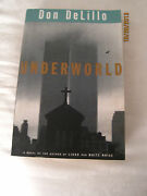 Underworld, Signed By Don Delillo, First Edition 1997
