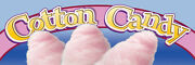 2ft X 6ft Cotton Candy Btl Vinyl Banner 2and039x6and039 -alt To Banner Flag 170