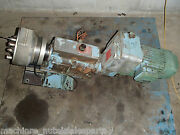 Wisconsin Drill Head 17 Tap Tapping Complete With Spindle And 2.5 Hp Motor