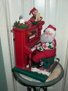 Holiday Creations Animated Sing A Long Santa With Cassette Player