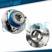 Pair 2 Front Wheel Hub Bearing For Buick Century Chevrolet Impala Fwd W/o Abs